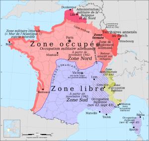 Les zones d'occupation et les Juifs en Savoie (voir annexe)