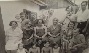 13001 FRITZ Alfred famille années 1920