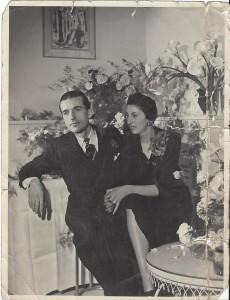 Imgard AUBRY née le 20 novembre 1909 déportée de Drancy le 31 juillet 1944 par le convoi n°77.
