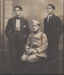 5 La fratrie Albert Henri et Gaston