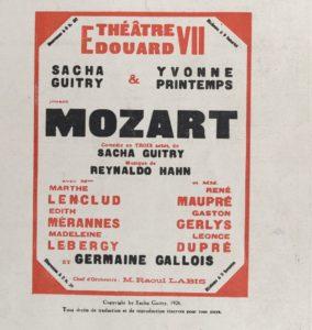 8 Affiche Mozart