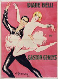 9 Diane Belli et Gaston Gerlys 1926
