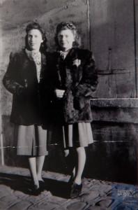 Germaine AKIERMAN née le 6 septembre 1925 déportée de Drancy le 31 juillet 1944 par le convoi n°77.