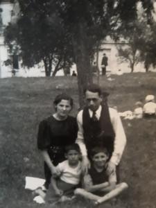 Abram Mirla Georges et Simon Zejgman 1937