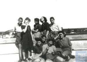 Suzanne BARMAN née le 18 août 1928 déportée de Drancy le 31 juillet 1944 par le convoi n°77.