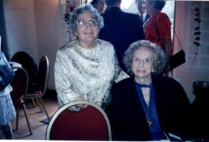 Berthe et Paulette 19 juin 1999