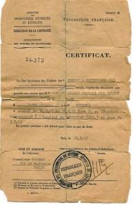 CARACO_Raphael_Drancy_certificate