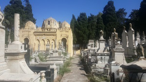 Carré israélite du cimetière de Bologhine Alger