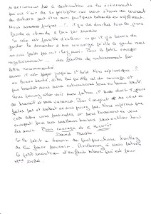 David Steinschnieder transcr lettre Drancy 2