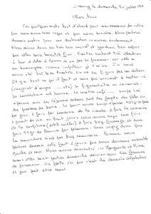 David Stienschneider transcr lettre Drancy 1