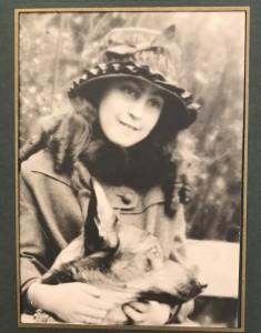 Denise Klotz 12 ans, 1917