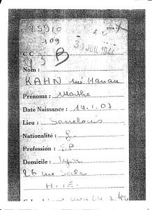 Drancy Marthe Kahn