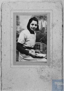 Renée ELMALEH née le 1er novembre 1928 déportée de Drancy le 31 juillet 1944 par le convoi n°77.