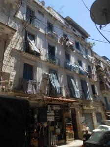 Façade immeuble du 19, rue Marengo Casbah dAlger