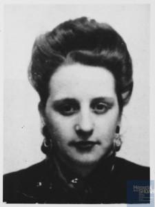 Simone GUEMPIK née le 22 février 1927 déportée de Drancy le 31 juillet 1944 par le convoi n°77.
