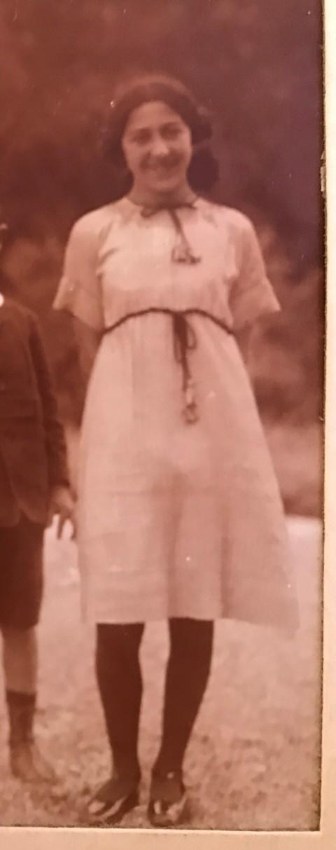 Lucienne KLOTZ, épouse FOUCAUD
