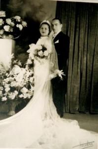 Mariage David Steinschneider Berthe Simplatt 1936