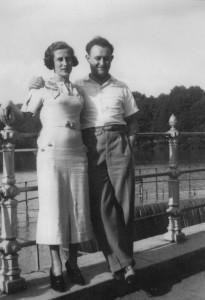 Marthe et Walter Kahn