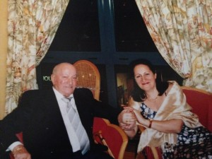 Michel Racimor et Madeleine fin 2004
