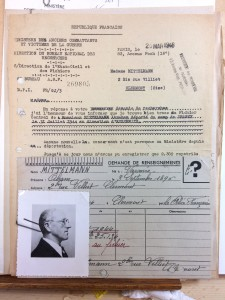 Mitelman Abram DAVCC reponse epouse 1946