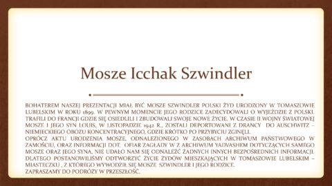 Moise SZWINDLER