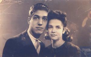Violette PARSIMENTO née le 13 novembre 1925 déportée de Drancy le 31 juillet 1944 par le convoi n°77.