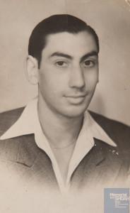 Jacques REBBOAH né le 8 janvier 1924 déporté de Drancy le 31 juillet 1944 par le convoi n°77.
