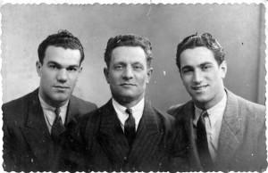 Joseph, Lazare et Michel Racimor, 1941