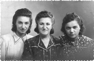Rachel, Thérèse et Marie, 1941