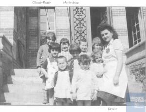 Marie-Anne VEXLER née le 17 octobre 1938 déportée de Drancy le 31 juillet 1944 par le convoi n°77.