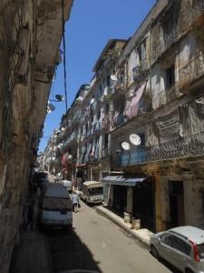 Vue de la rue Marengo Casbah dAlger