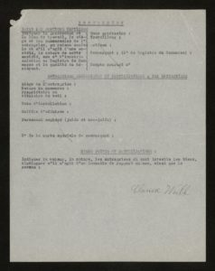 WEILL_Clarisse_document_recensement_juif_verso