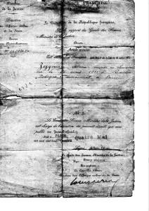 Zejgman Abram naturalisation