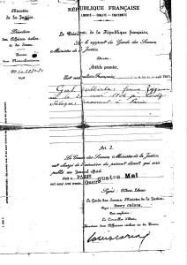 Zejgman Mirla naturalisation