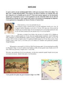 biographie de Berthe Draï