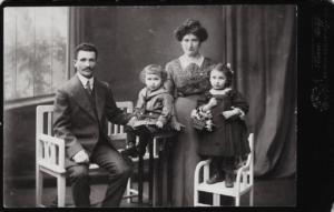 photo famille Schaya – Lejbus SZWARC Rywka DIAMENT DORA & DAVID