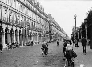 rue de paris occupé