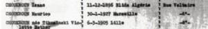 Choukroun Isaac Archives Allier Liste Juifs