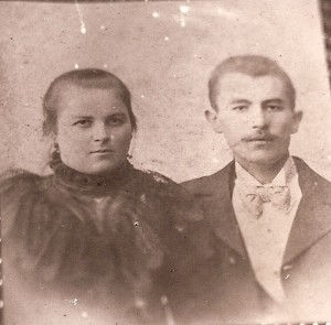 Golda and Abraham GUERBER in Ouman