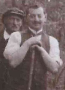 SAMUEL Henri avec son pere