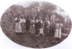 SAMUEL Henri famille 1920