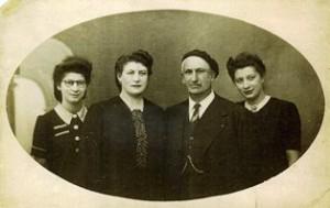 SCHWARTZ Leopold Archive Familiale avec enfants