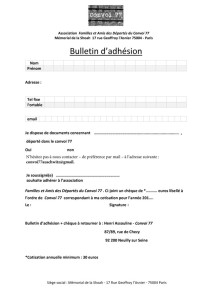 bulletin-adhesion site