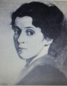 Sophie Blum née Lazarus auto-portrait_jeune