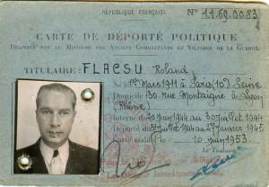 Roland Flacsu carte_déporté_politique_1953