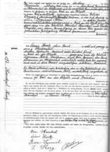 HANDZEL-Marcel_acte_mariage_parents_Archives_Esch_sur_Alzette