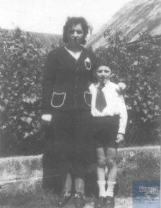 Marcel HANDZEL né le 22 août 1934 déporté de Drancy le 31 juillet 1944 par le convoi n°77.