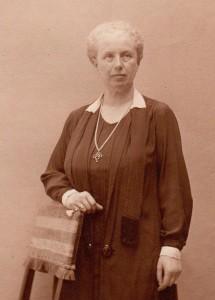 Jeanne Salomon autour de 1921