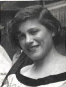 Madeleine Grinberg environ 1950