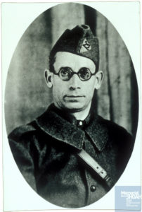 Abram ZEJGMAN né le 26 mai 1895 déporté de Drancy le 31 juillet 1944 par le convoi n°77.